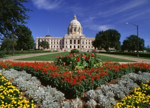 Minnesota State Capitol Building During Summer