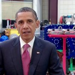 President Obama talks about manufacturing jobs in Pittsburgh, PA