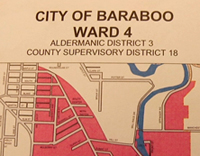 City of Baraboo Ward 4 In Wisconsin