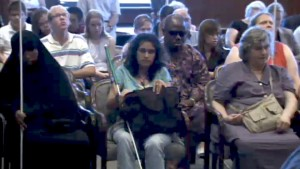 Blind People At Special Master Hearing