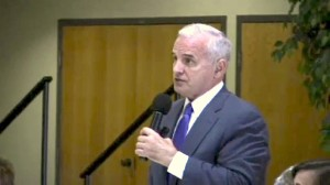 Governor Mark Dayton Talks at Health Care Discussion in Rochester, MN