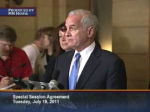 Governor Dayton Announces Special Session