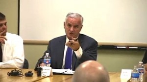 Governor Dayton Discusses MN Budget With Albert Lea Business Leaders