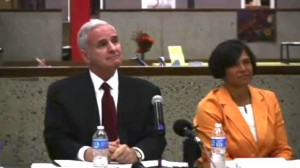 Governor Mark Dayton at Special Education roundtable in St. Cloud