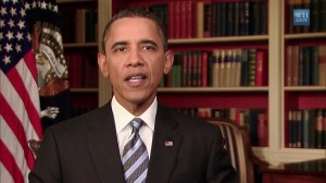 President Obama delivers weekly address