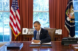 President Obama signs debt ceiling bill