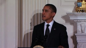 President Obama speaks at a White House dinner marking Ramadan