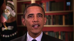 President Obama delivers his weekly address