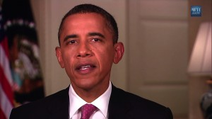 President Obama talks about education and the economy