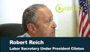 Former US Labor Secretary Robert Reich