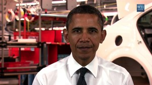 President Obama delivers weekly address from Detroit