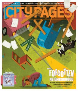 City Pages Cover-The Forgotten Neighborhood