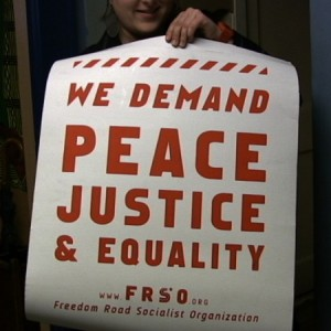 Peace Poster confiscated by the FBI