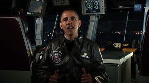 President Obama delivers weekly address from USS Carl Vinson