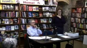 Professor Gary Prevost at Mayday book store