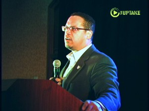 Congressman Keith Ellison at 2012 Blue State Ball