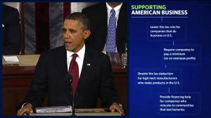 President Obama delivers his 2012 State of The Union address