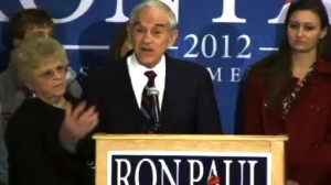 Ron Paul Stumps In Des Moines, Iowa