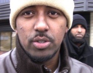 One of about 100 Somalis who closed their accounts at Wells Fargo