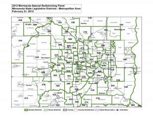 Minnesota Legislative Districts Metropolitan_Area
