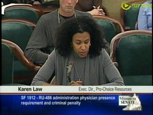 Karen Law of Pro Choice Resources