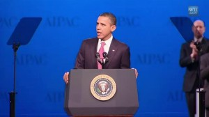 President Obama speaks to the American-Israel Lobby