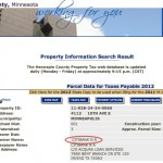 Hennepin County Tax Record- Gretsch Home